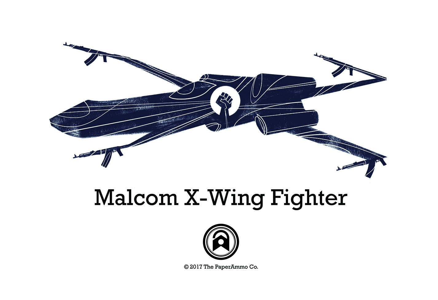 Malcom X-Wing Fighter